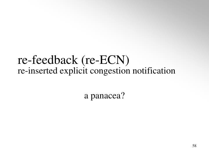 re-feedback (re-ECN)