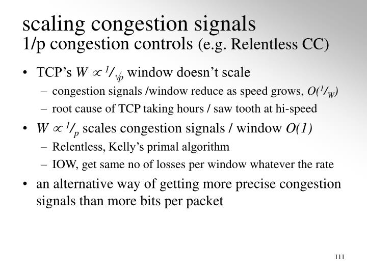 scaling congestion signals
