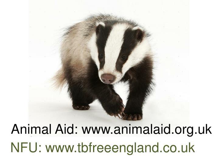 Animal Aid: www.animalaid.org.uk