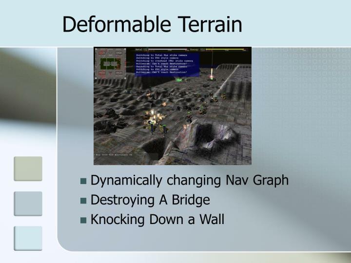 Deformable Terrain