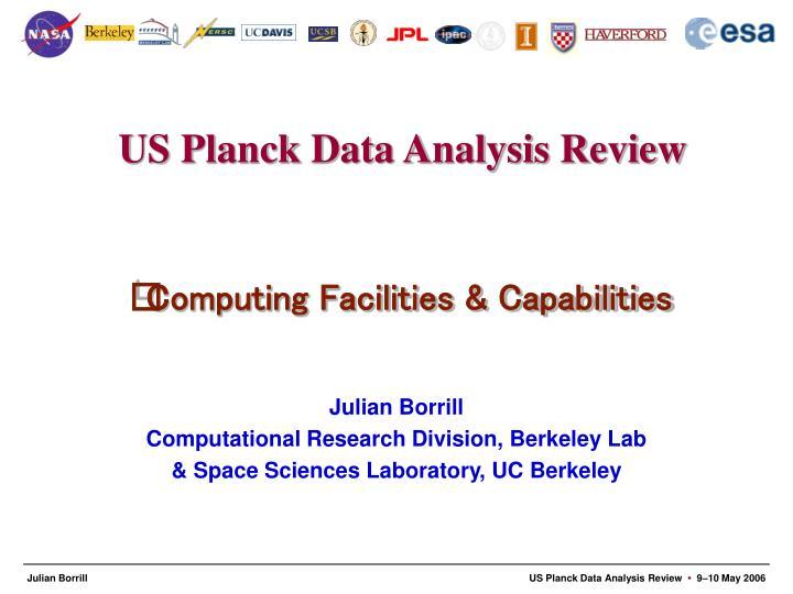 Computing Facilities & Capabilities