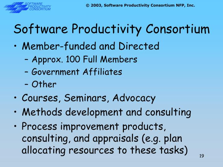 Software Productivity Consortium