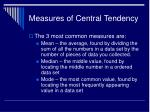 measures of central tendency1