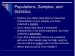 populations samples and statistics2