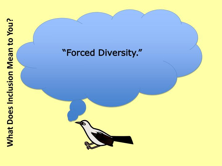 """Forced Diversity."""