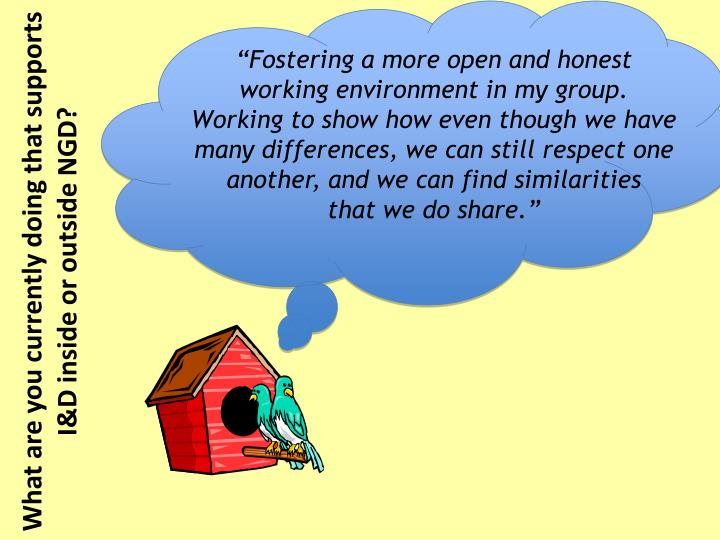"""Fostering a more open and honest"
