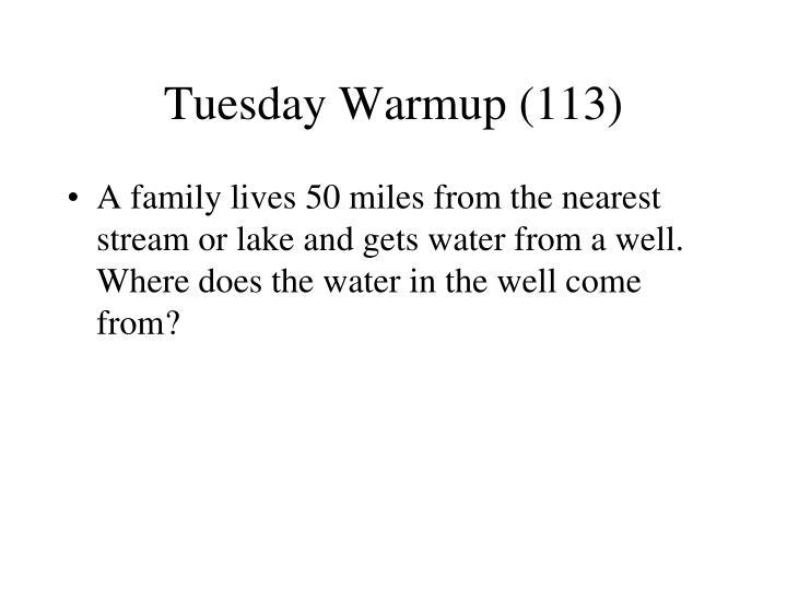 Tuesday Warmup (113)
