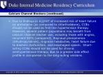 calcium channel blockers continued