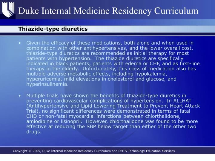 Thiazide-type diuretics