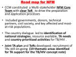 road map for nfm