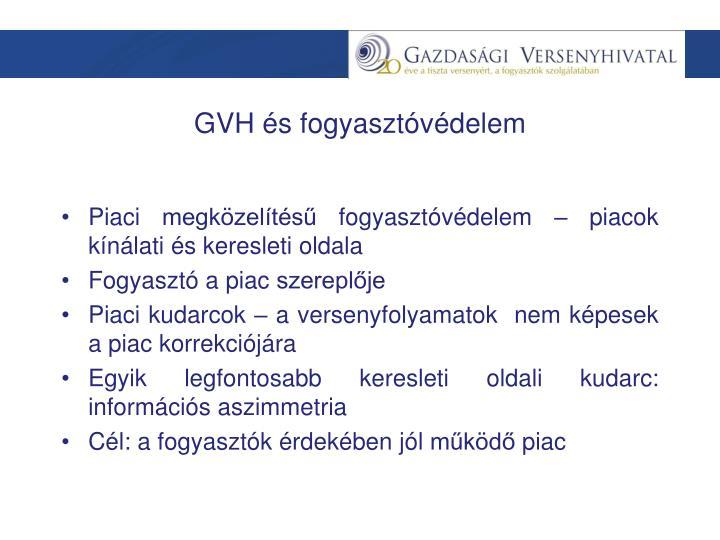 GVH és fogyasztóvédelem