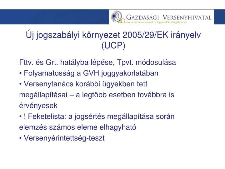 Fttv. és Grt. hatályba lépése, Tpvt. módosulása