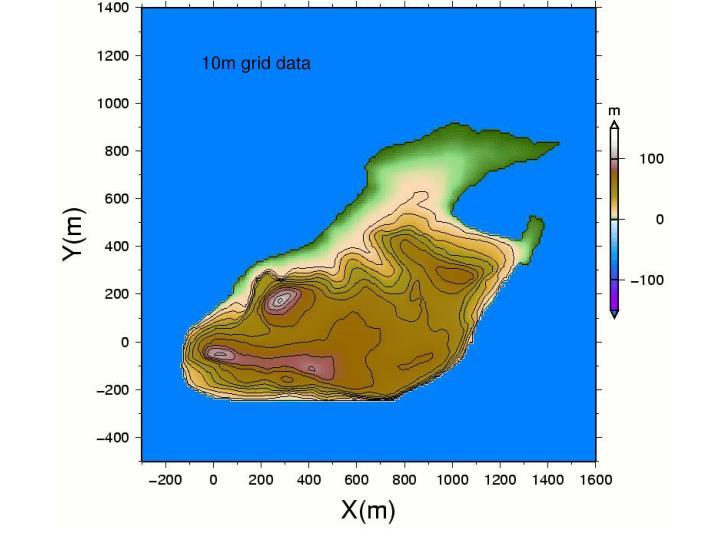 10m grid data