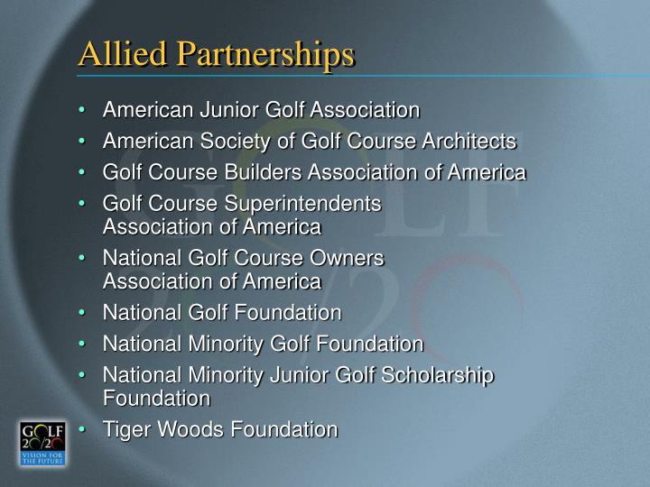 Allied Partnerships
