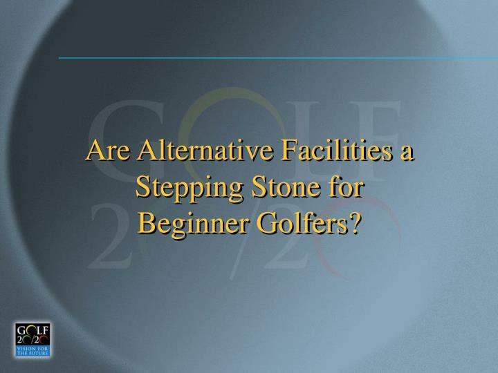 Are Alternative Facilities a