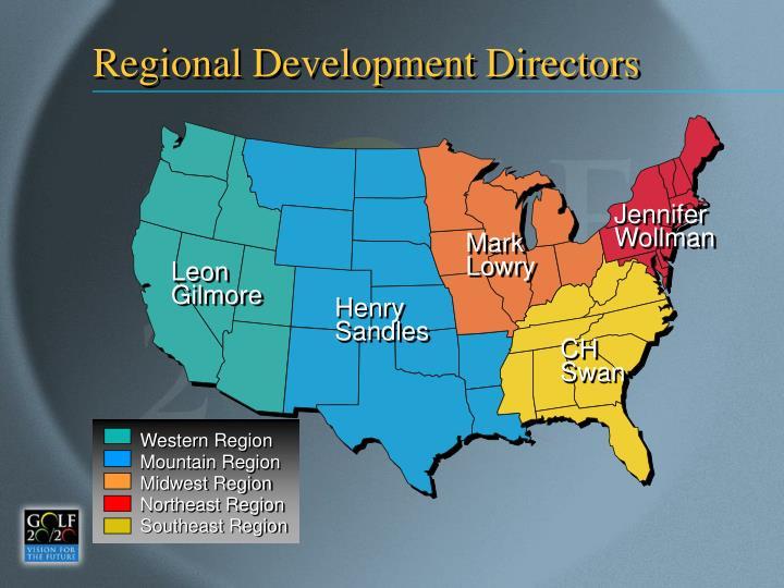 Regional Development Directors