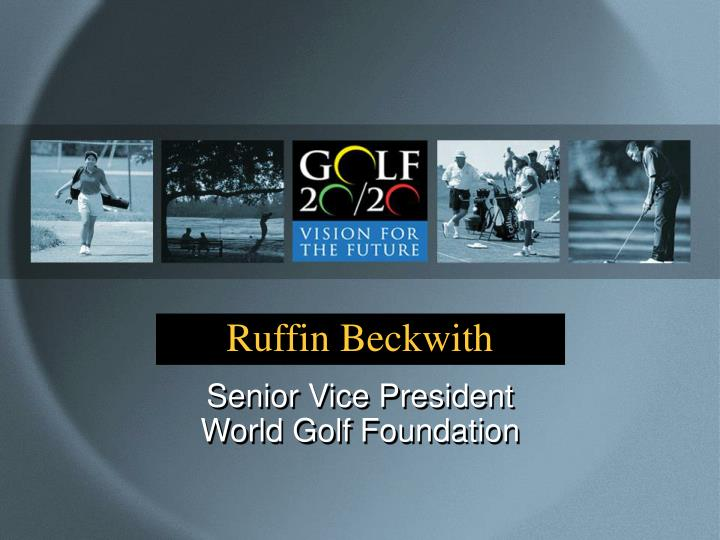Ruffin Beckwith