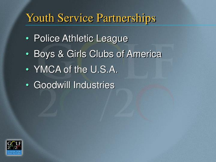 Youth Service Partnerships