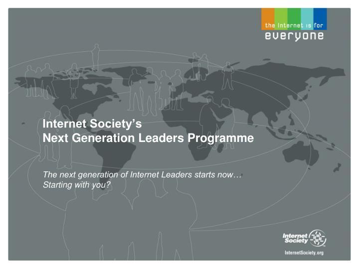 Internet Society's