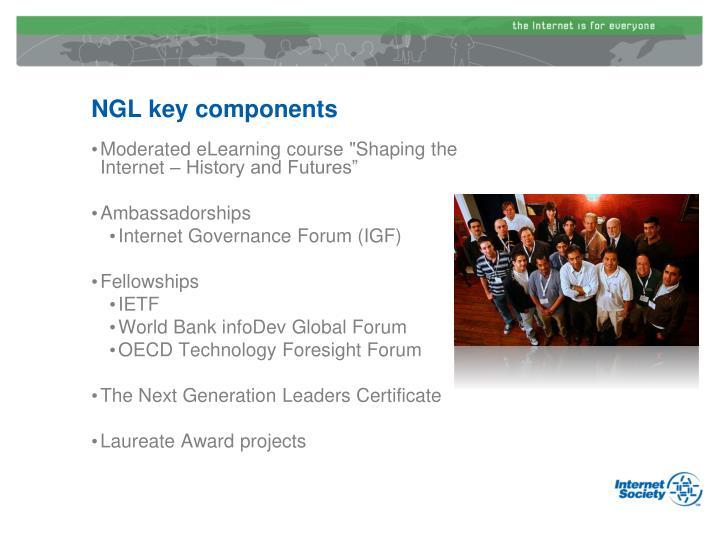 NGL key components