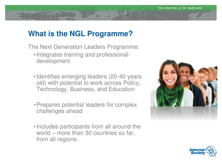 What is the NGL Programme?