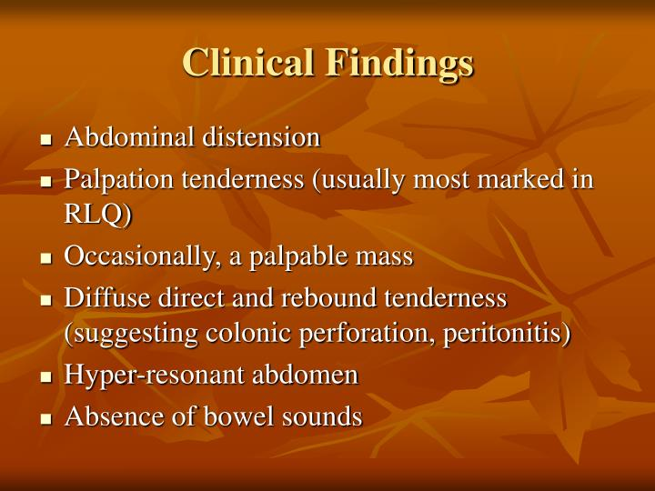 Clinical Findings