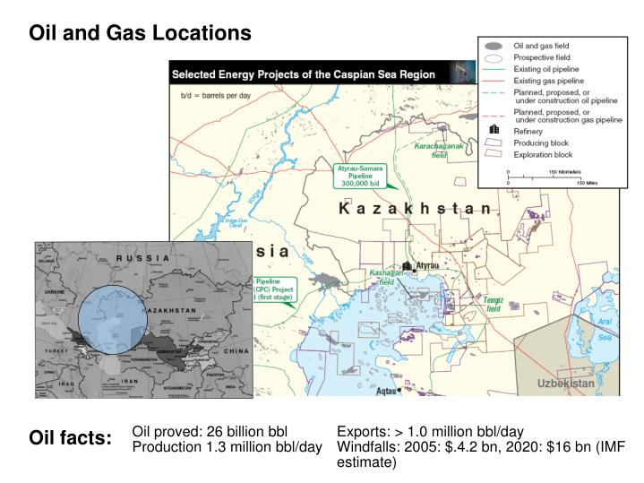 Oil and Gas Locations