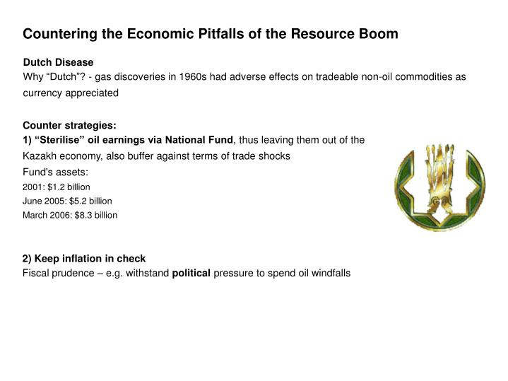 Countering the Economic Pitfalls of the Resource Boom