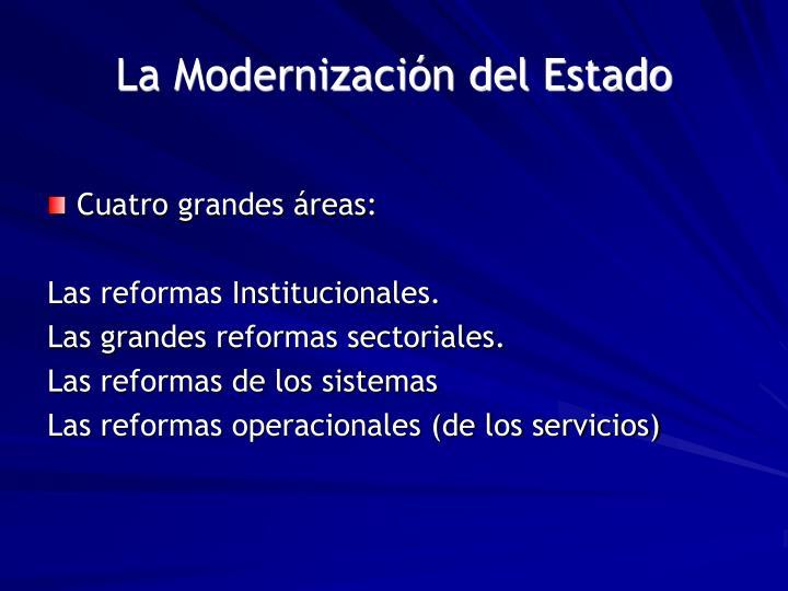 La Modernización del Estado