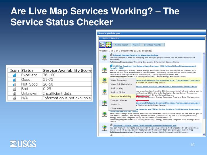 Are Live Map Services Working? – The Service Status Checker