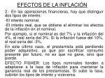 efectos de la inflaci n1