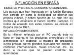 inflacci n en espa a
