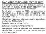 magnitudes nominales y reales3