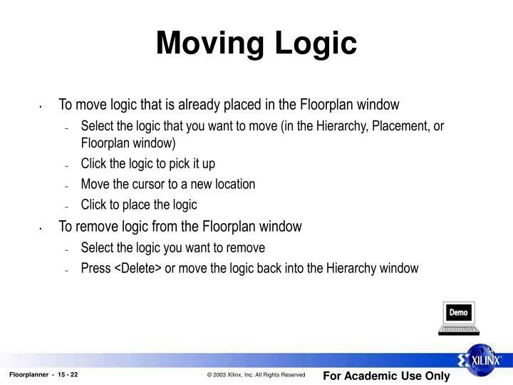 Moving Logic