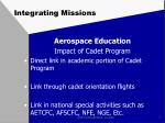 integrating missions6