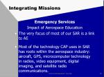 integrating missions9