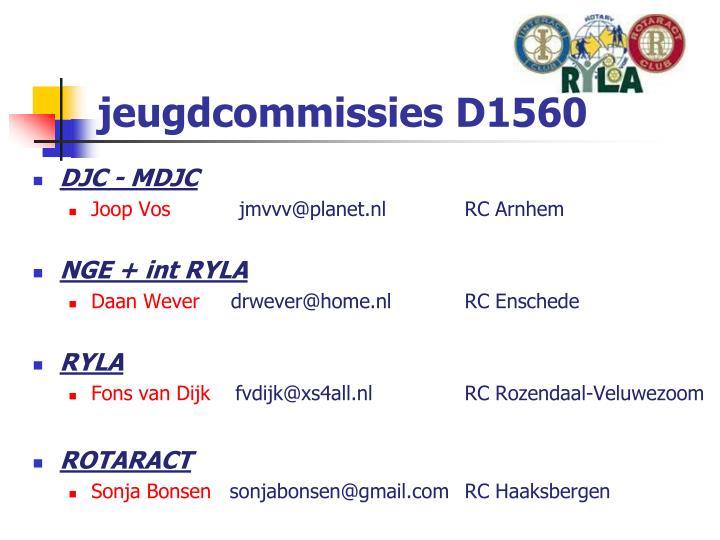 jeugdcommissies D1560