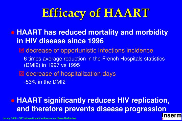 Efficacy of HAART