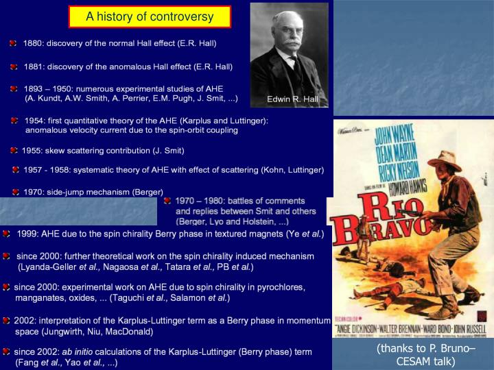 A history of controversy
