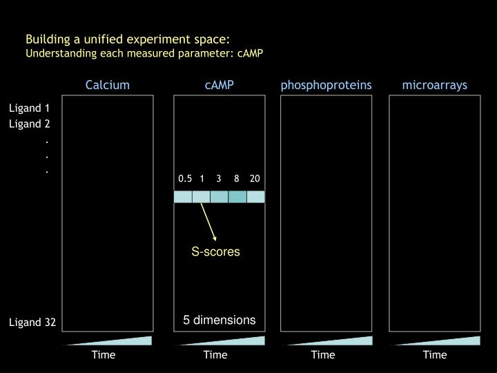 Building a unified experiment space: