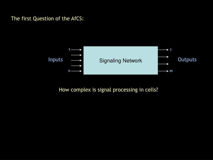 Signaling Network