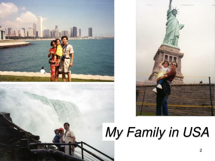 My Family in USA