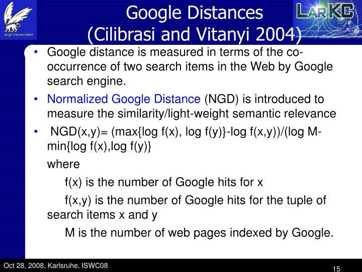 Google Distance