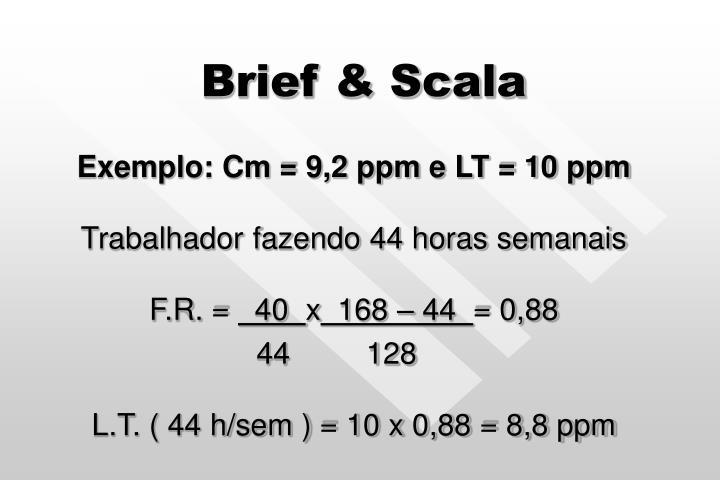 Brief & Scala