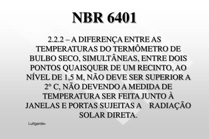 NBR 6401