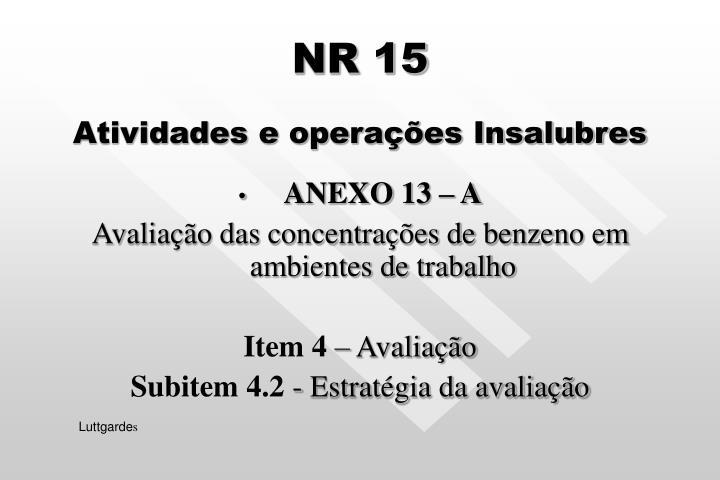 NR 15