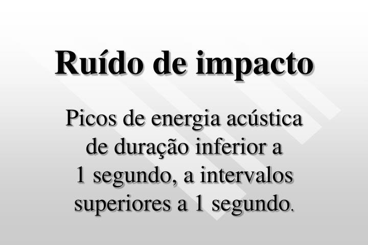 Ruído de impacto
