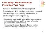 case study ohio foreclosure prevention task force