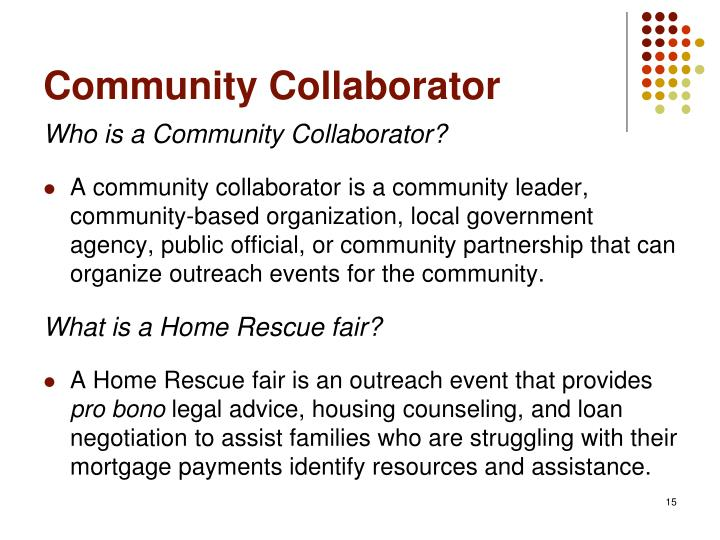 Community Collaborator