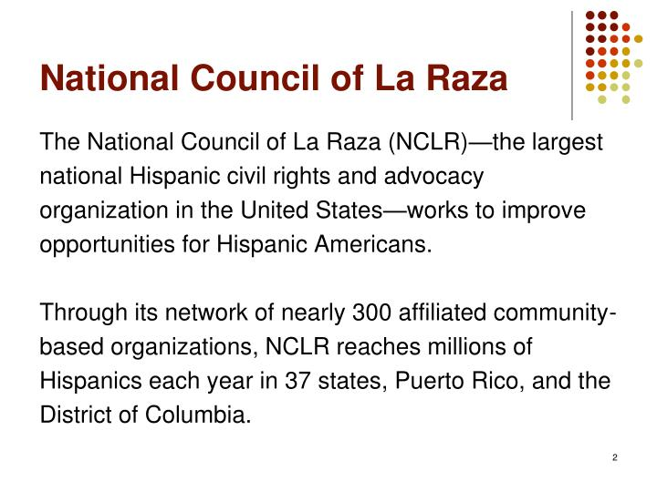 National Council of La Raza